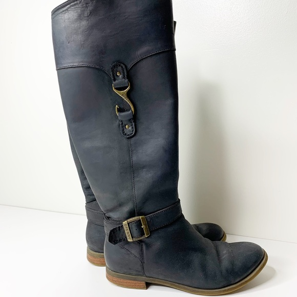 Sperry Shoes   Knee High Zip Up Boots W